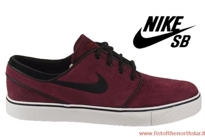 Nike Janoski Bordeaux