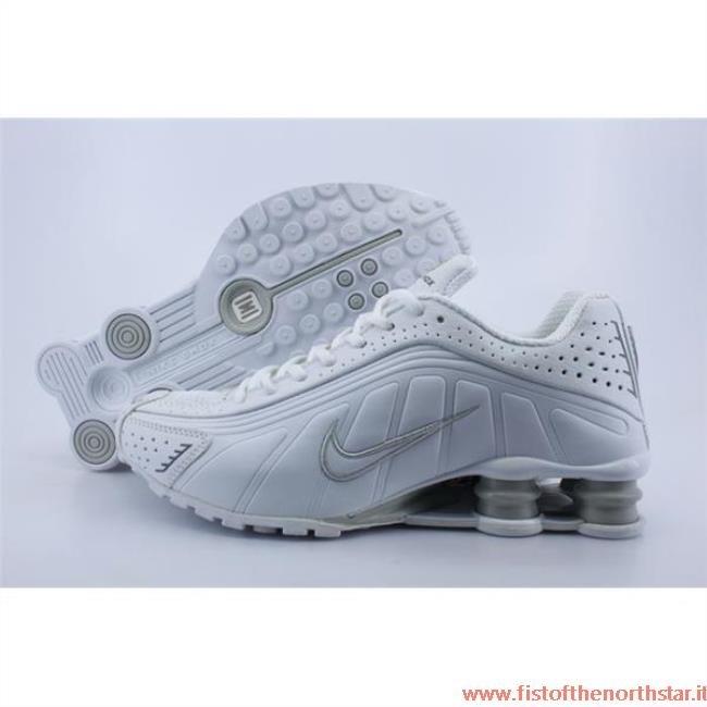 scarpe nike shox bianche