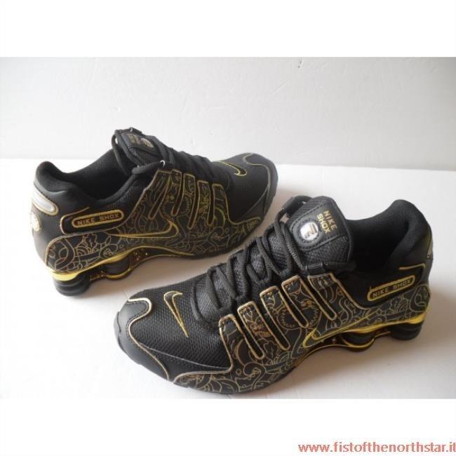 81c57bc3aecb8 Nike Shox Nere E Argento fistofthenorthstar.it